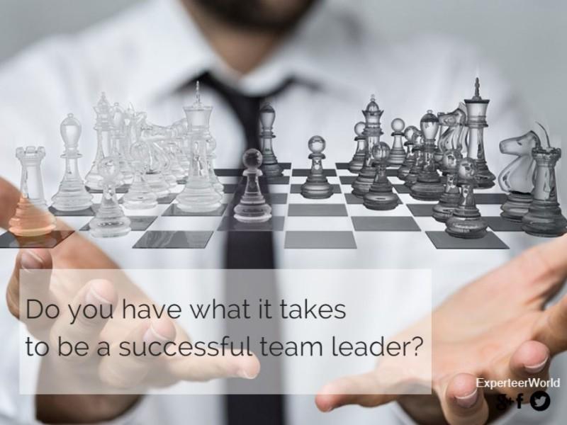 Successful Team Leader