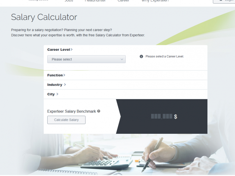 Salary calculator new