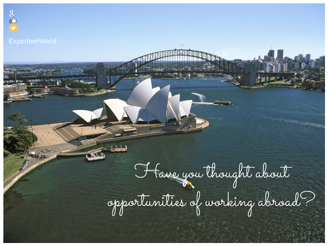 Cities with the best opportunities work abroad
