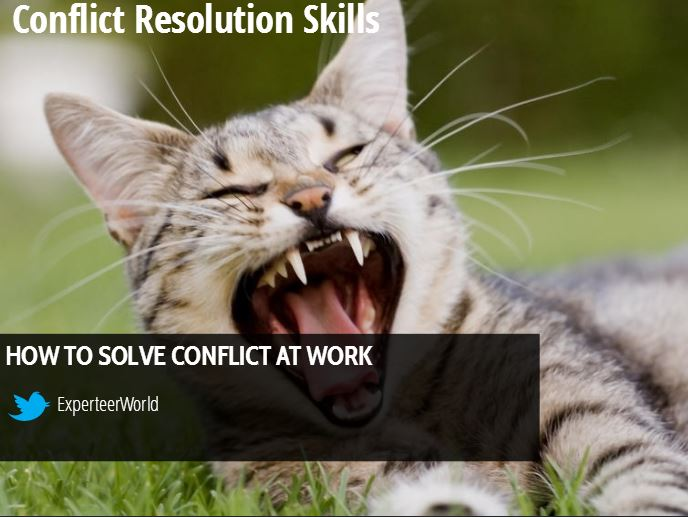 Conflict resolution manager skills