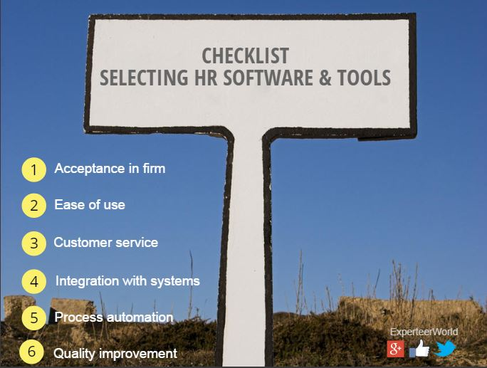 HR software and recruitment tools