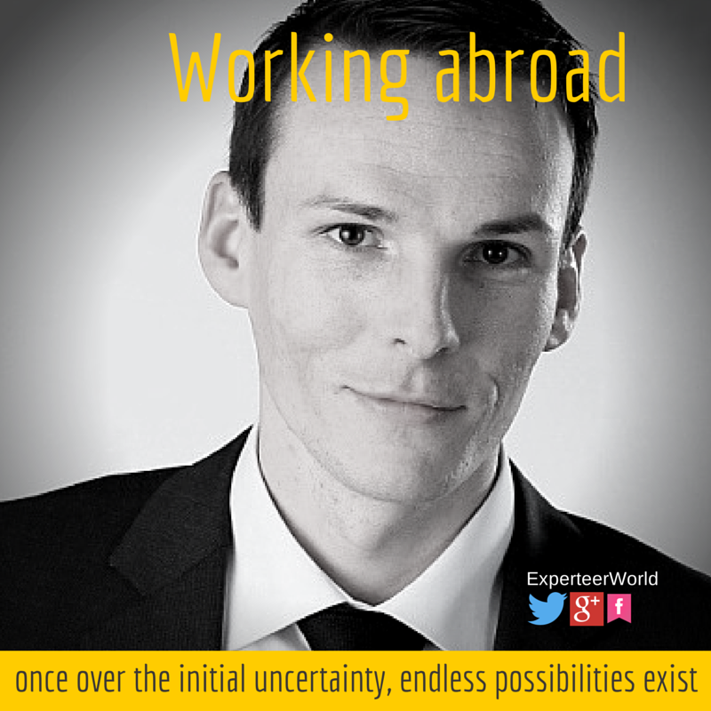 Working abroad internationally work experience
