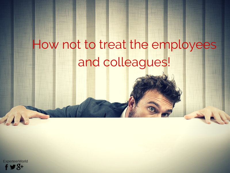 Things you should never say to your employees