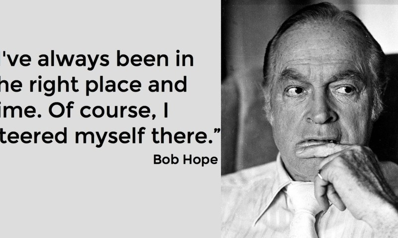 bob-hope-quote on applying to a headhunter
