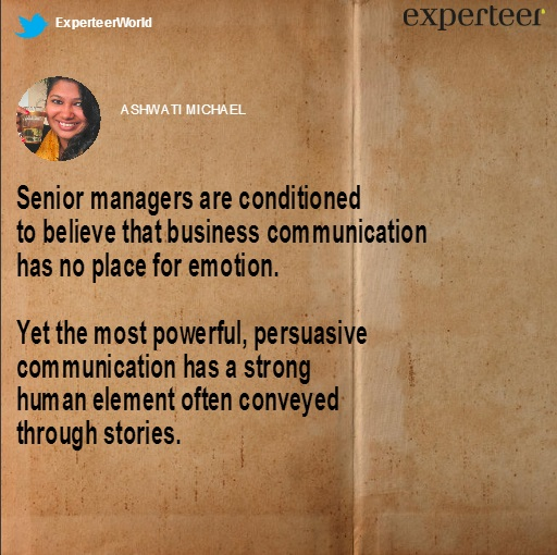 storytelling for senior managers