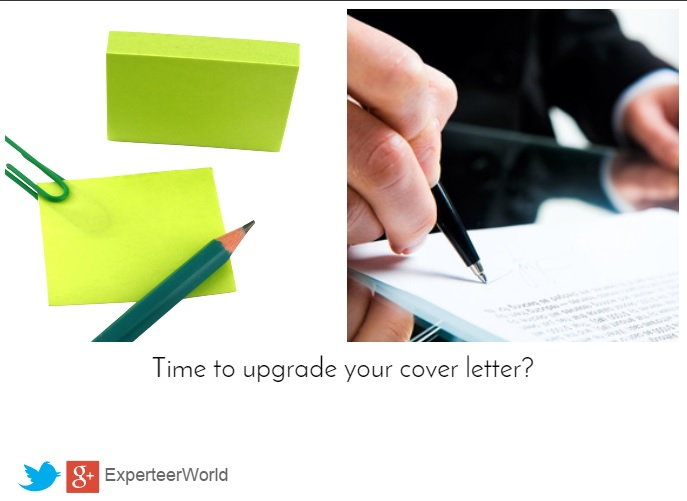 time to upgrade your cover letter