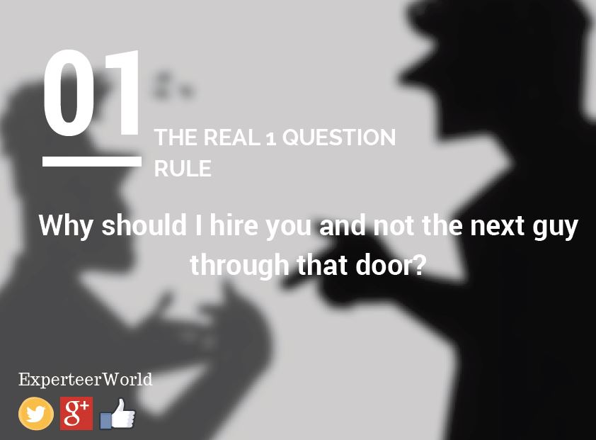 oddball interview questions for executive jobs