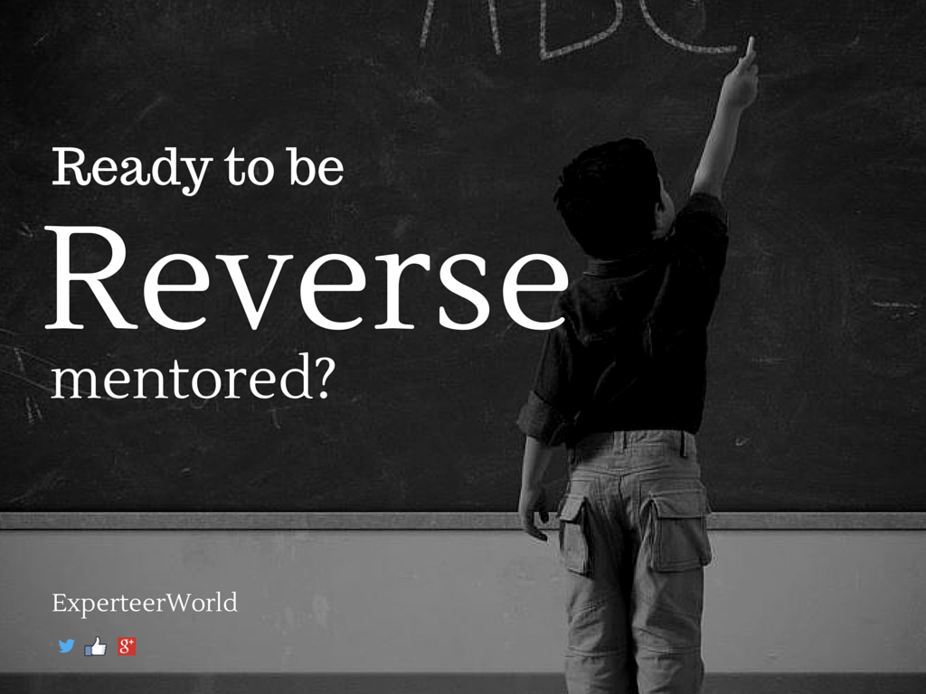 Reverse mentoring tips