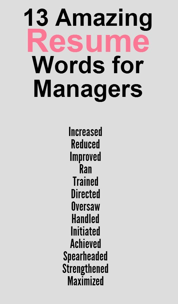 Words To Impress How Hiring Managers Read Resumes  Tips For A Resume
